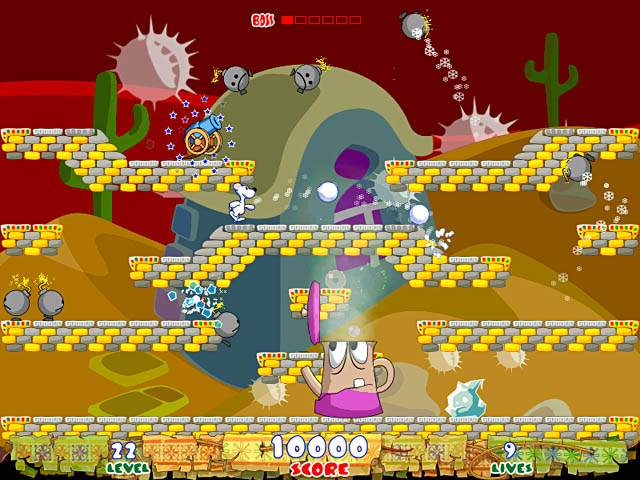 Snowy - arcade game screenshot